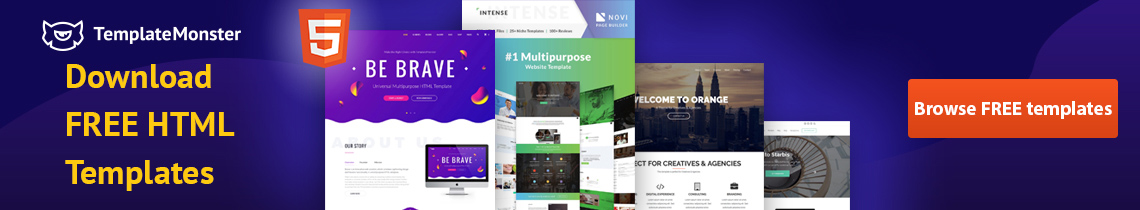 Download Free HTML Templates