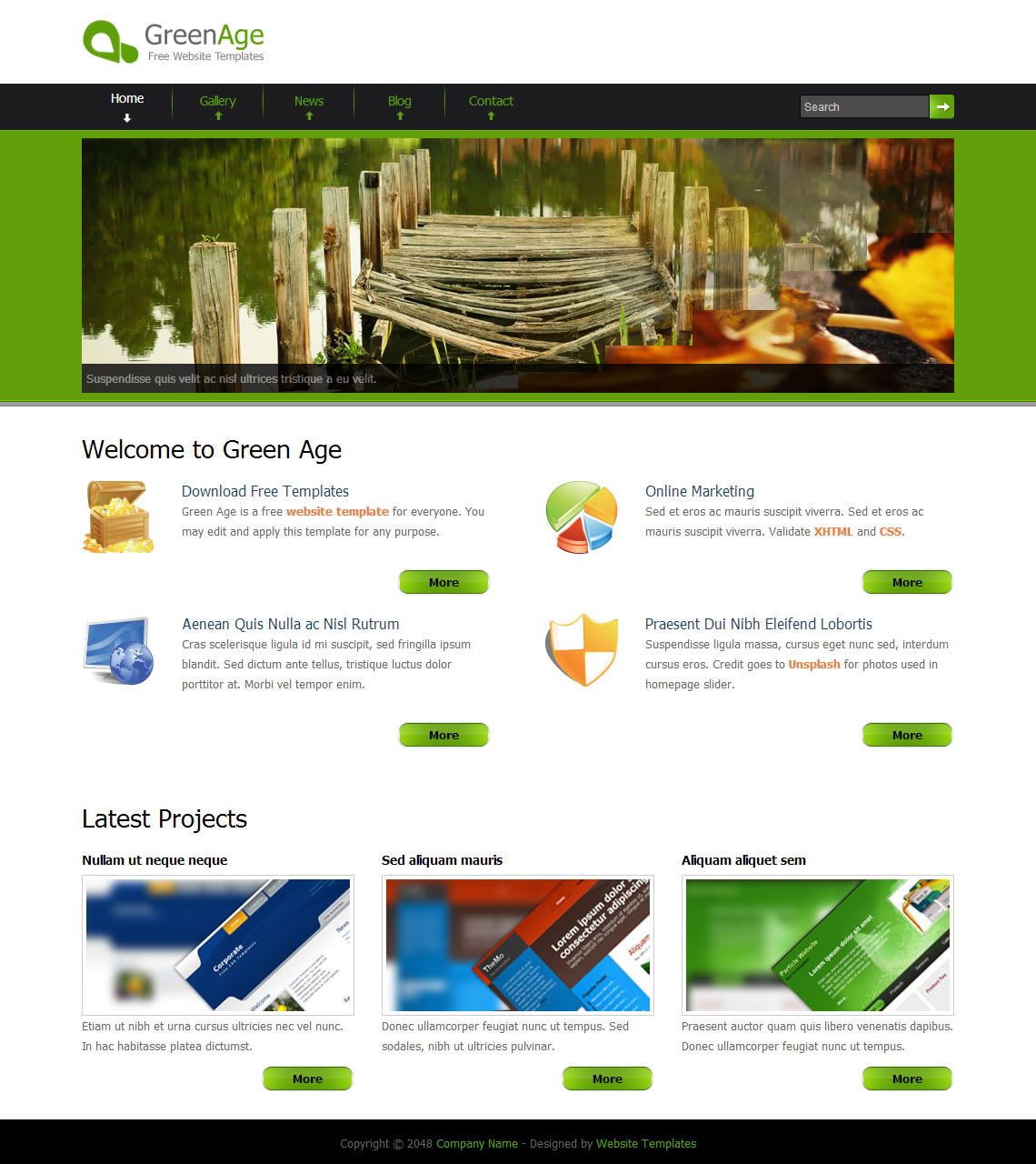 Green Age HTML Template
