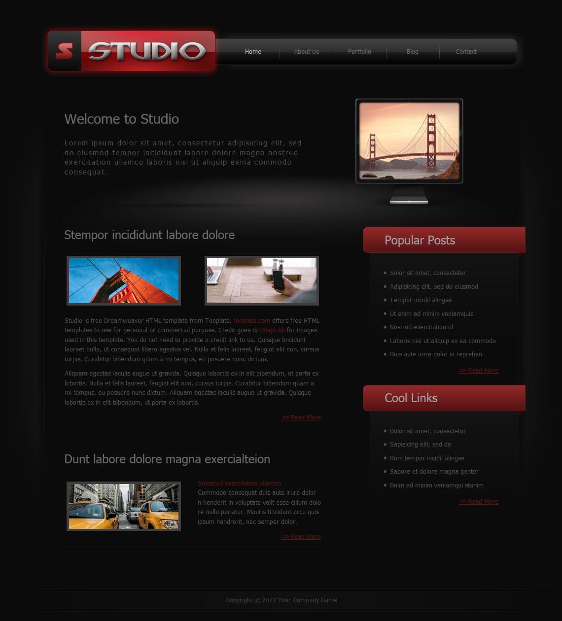 Studio free templates live view screenshot download maxwellsz