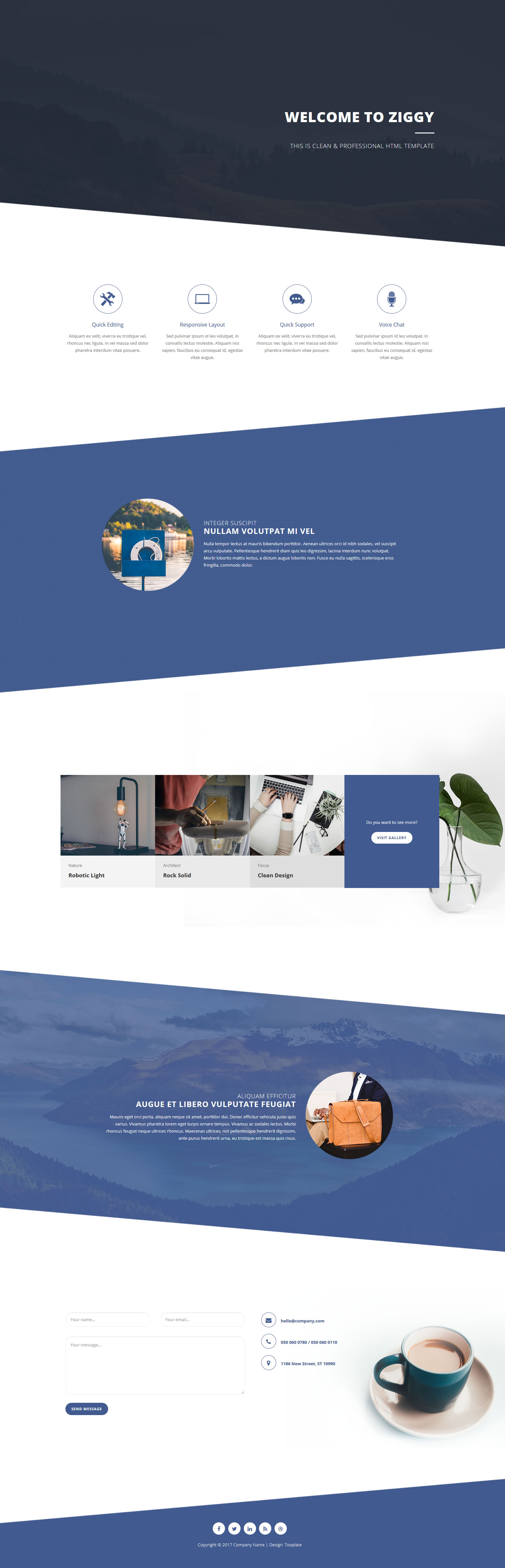 Ziggy HTML Template