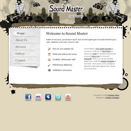 Sound Master template