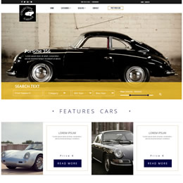 Garage Bootstrap Theme