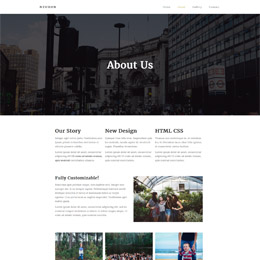 Neuron Blog template