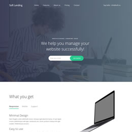 Soft Landing Page