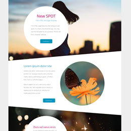 New Spot One-page template