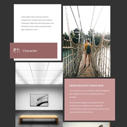 Character HTML5 Page
